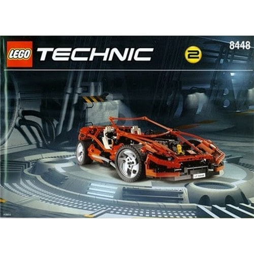 lego technic voiture rouge r f 8448 neuf et d 39 occasion. Black Bedroom Furniture Sets. Home Design Ideas