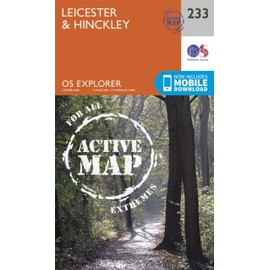 Leicester And Hinckley 1 : 25 000 de Ordnance Survey
