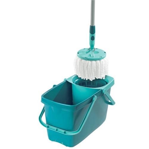 leifheit set clean twist mop pas cher achat vente priceminister rakuten. Black Bedroom Furniture Sets. Home Design Ideas