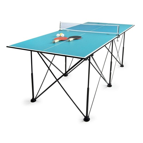 leomark table de ping pong pliable portable achat et. Black Bedroom Furniture Sets. Home Design Ideas