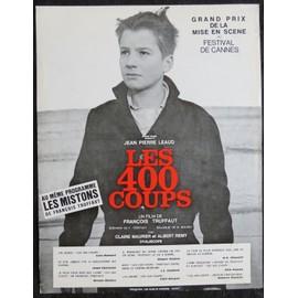 Les 400 coups francois truffaut film de 1958 sc nario de cin ma 2 pages recto verso - Les 400 coups de francois truffaut ...