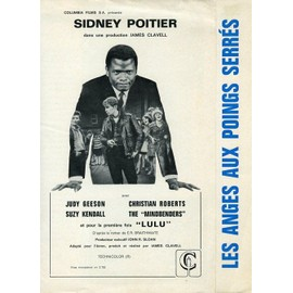 Les Anges Aux Poings Serr�s, Synopsis D�pliant, De James Clavell, Avec Sidney Poitier, Judy Geeson