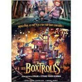 Les Boxtrolls En 3d - Affiche De Cin�ma Pli�e 60x40 Cm