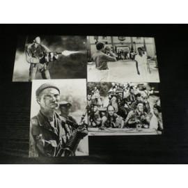 Les Chiens De Guerre Jeu De 4 Photos N&b Format Carte Postale