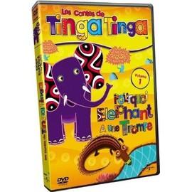Les Contes De Tinga Tinga - Volume 1 - Pourquoi L'éléphant A Une Trompe ?
