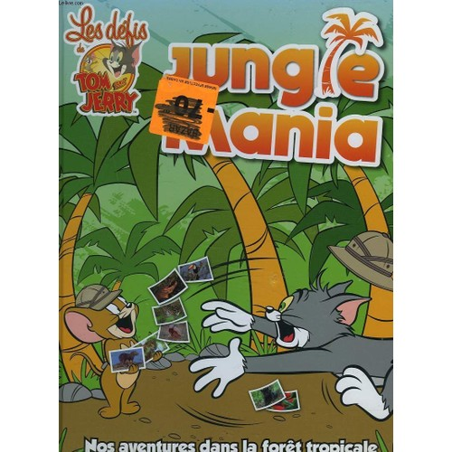 Les defis de tom et jerry jungle mania livre neuf occasion - De tom et jerry ...