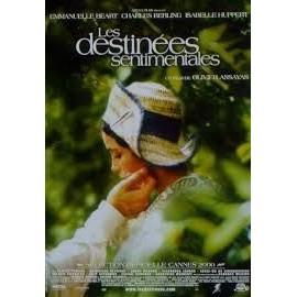Les Destin�es Sentimentales, Affiche De Cin�ma Pli�e (120x160cm Du Film De Olivier Assayas Avec Emmanuelle B�art, Isabelle Huppert Et Charles Berling.