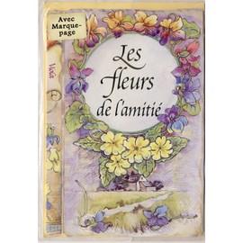 Les Fleurs De L Amitie Carte Avec Marque Page Et Enveloppe Poemes