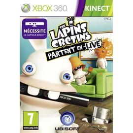 Les Lapins Cr�tins Partent En Live - Kinect
