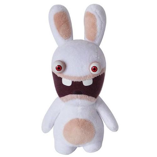 Les lapins cretins peluche beanie bouche ouverte 19 cm - Lapin cretain gratuit ...