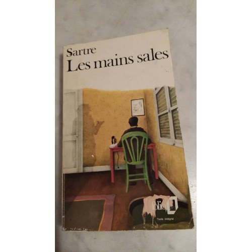 les mains sales essays 1944 in camera, 1946, better known as no exit, 1947), and les mains sales (pr,   thereafter, apart from his plays, sartre wrote mainly essays, both literary and.