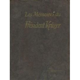 Les M�moires Du Pr�sident Kruger de KRUGER