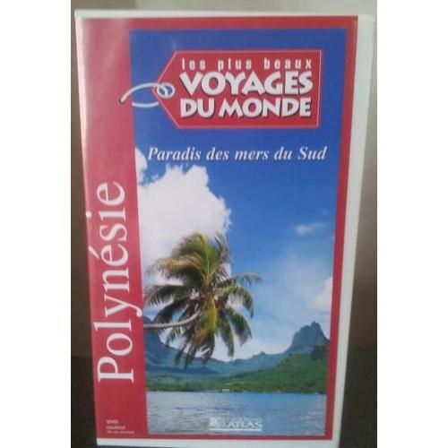 les plus beau voyage du monde polynesie vhs priceminister rakuten. Black Bedroom Furniture Sets. Home Design Ideas