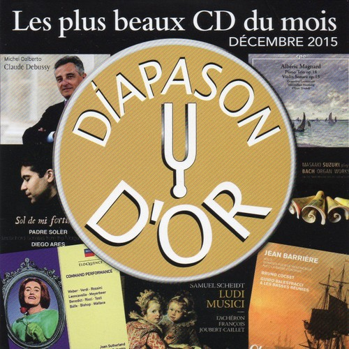 les plus beaux cd du mois decembre 2015 diapason d 39 or cd album. Black Bedroom Furniture Sets. Home Design Ideas
