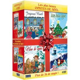 Les Plus Beaux Contes De No�l : Joyeux No�l + Vive Le Vent + Mon Beau Sapin + La Premi�re Neige + 3 H�ros Pour Un Cadeau - Pack
