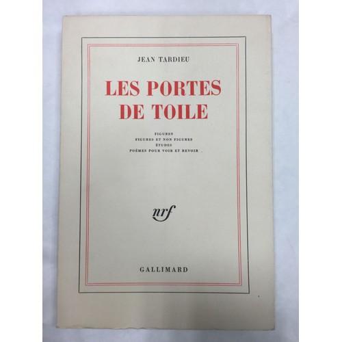 Les Portes De Toile Figures Figures Et Non Figures Etudes Poèmes Pour Voir Et Revoir