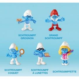 Les schtroumpfs 2 happy meal 2013 lot de 5 schtroumpfs - Stroumph grincheux ...