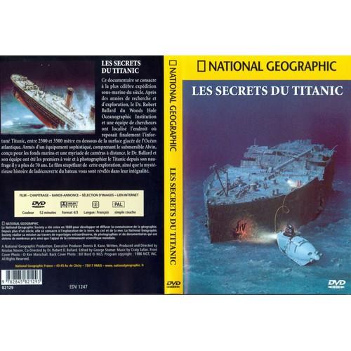 Les secrets du titanic de national geographic dvd zone 2 - Code avantage aroma zone frais de port ...