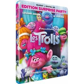 Petite annonce Les Trolls - Édition Surprise Party - Blu-Ray - 33000 BORDEAUX