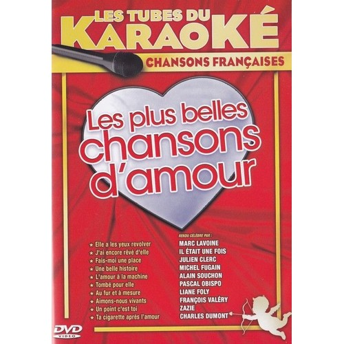 les tubes du karaok les plus belles chansons d 39 amour dvd zone 2. Black Bedroom Furniture Sets. Home Design Ideas