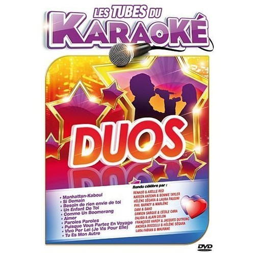 les tubes karaoke duos les plus belles voix de la chansons fran aise de wagram achat et. Black Bedroom Furniture Sets. Home Design Ideas