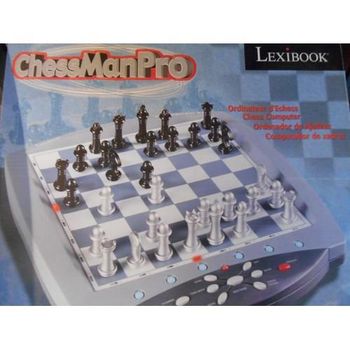 lexibook jeu d 39 echecs electronique chessman pro achat et vente. Black Bedroom Furniture Sets. Home Design Ideas