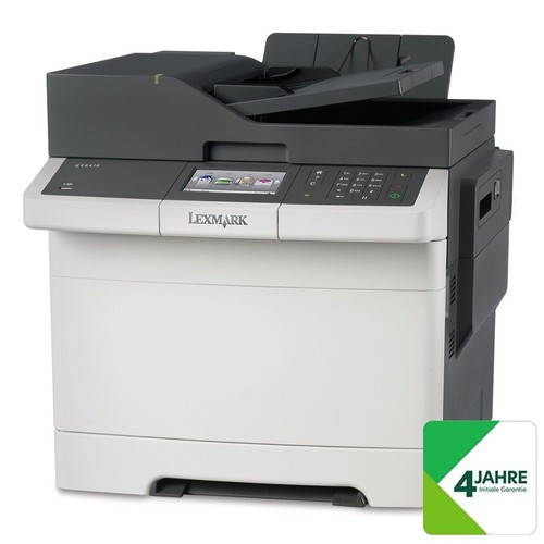 lexmark cx410de imprimante laser couleur scanner photocopieuse fax lan 4 ann es. Black Bedroom Furniture Sets. Home Design Ideas
