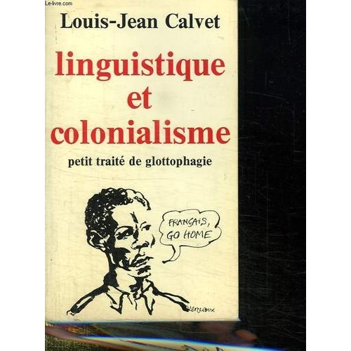 COLONIALISME ET LINGUISTIQUE PDF DOWNLOAD