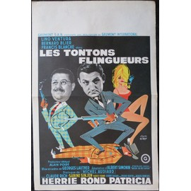 lino ventura les tontons flingueurs film gaumont georges lautner affiche de cin ma. Black Bedroom Furniture Sets. Home Design Ideas
