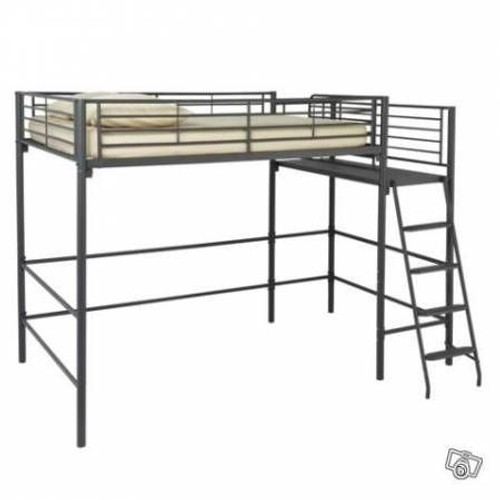 lit 1 pers 90x 190 avec passerelle pas cher priceminister. Black Bedroom Furniture Sets. Home Design Ideas