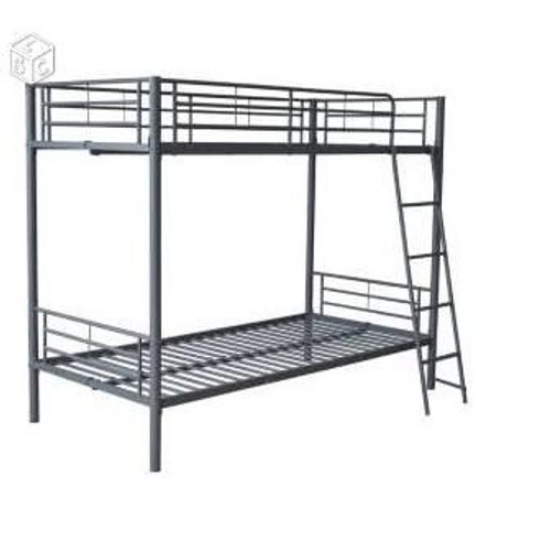 Lits superposes structure metal achat et vente - Lits superposes metal ...