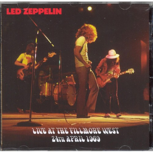 Live At The Filmore West 1969 - Led Zeppelin - Achat et