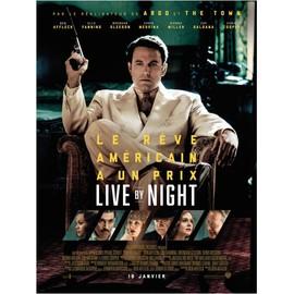 live by night affiche originale de cin ma format 120x160 cm un film de et avec ben affleck. Black Bedroom Furniture Sets. Home Design Ideas