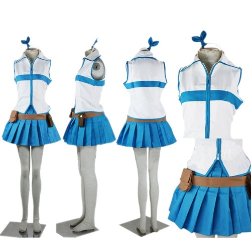 livraison imm diate cosplay tail lucy fairy costume. Black Bedroom Furniture Sets. Home Design Ideas