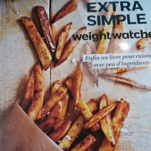 livre de recettes ma cuisine extra simple weight watchers de weight watchers format broch. Black Bedroom Furniture Sets. Home Design Ideas