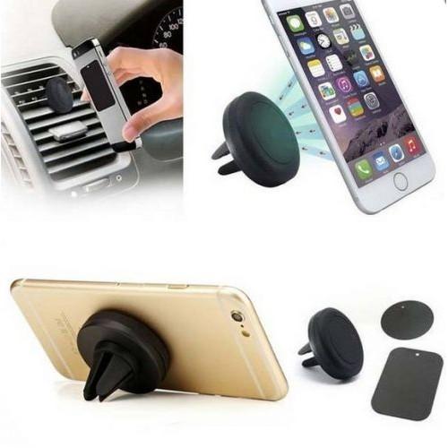 look my kase support t l phone aimant de voiture fixation magn tique du mobile sur la grille. Black Bedroom Furniture Sets. Home Design Ideas