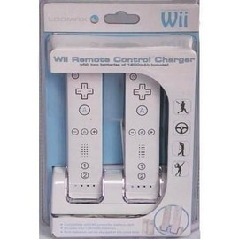loomax wii remote control charger station chargeur pour. Black Bedroom Furniture Sets. Home Design Ideas
