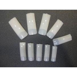 lot 100 faux ongles capsules tips couleur naturel qualit professionnelle gel uv. Black Bedroom Furniture Sets. Home Design Ideas