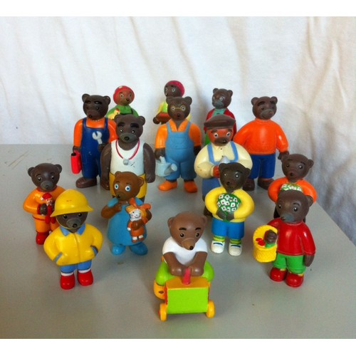 lot 15 figurines petit ours brun neuf et d 39 occasion. Black Bedroom Furniture Sets. Home Design Ideas