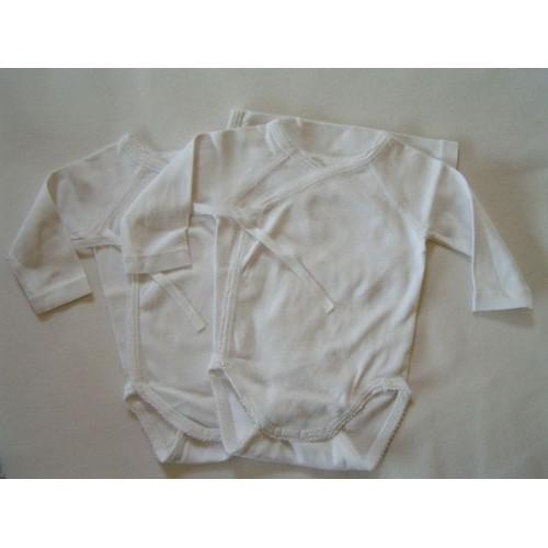 Lot 2 Body Manches Longues Blanc 3 Mois Petit Bateau - Achat et vente 3696b6665a0
