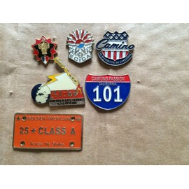 Lot 6 Pin's Divers