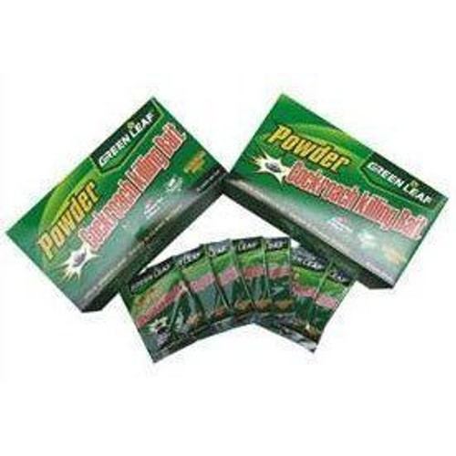 lot de 100 sachets produit anti cafard foudroyant exterminateur insecticide green leaf cockroach. Black Bedroom Furniture Sets. Home Design Ideas