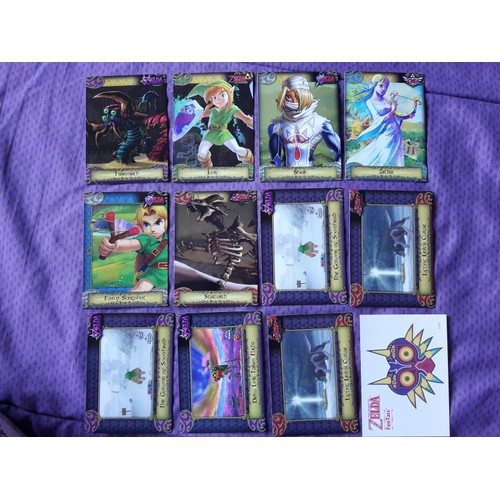 Lot De 11 Cartes Zelda Tcg 1 Tatouage Neuf Et D Occasion Rakuten