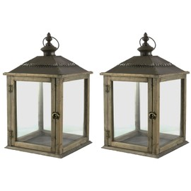 lot de 2 lampes a suspendre ou a poser lampions id al pour electrifier lanternes int rieur ou. Black Bedroom Furniture Sets. Home Design Ideas