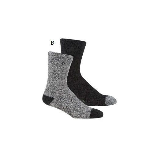 lot de 2 paires de chaussettes antid rapantes pour homme. Black Bedroom Furniture Sets. Home Design Ideas