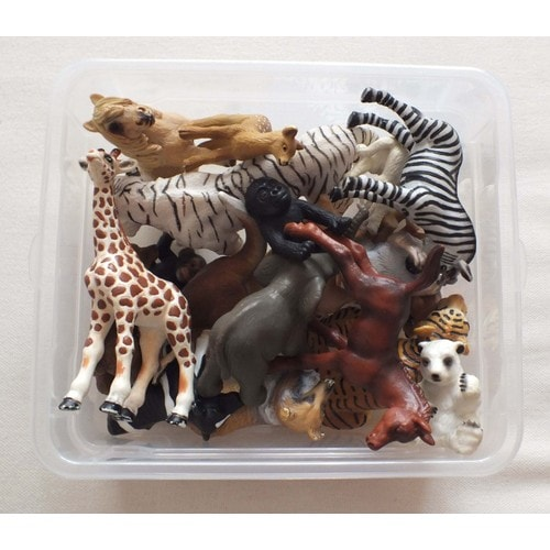 lot de 21 figurines animaux schleich neuf et d 39 occasion. Black Bedroom Furniture Sets. Home Design Ideas