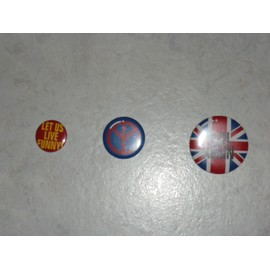 Lot De 3 Badges, Th�me Londres (Angleterre)