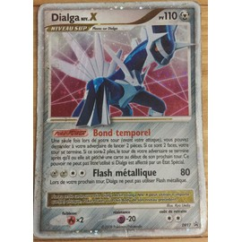 Lot de 3 cartes pokemon legendaire palkia x dialga x darkrai x diamant et perles ultra rare - Pokemon rare diamant ...