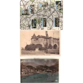 Lot De 3 Cartes Postales De Menton, Mennetou Et De La Meuse �