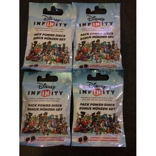Lot De 4 Sachets Power Discs Disney Infinity Achat Et Vente